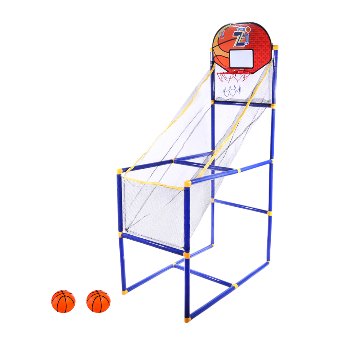 Surwish 125cm Children Sports Equipment Indoor Outdoor Basketball Shooting Toy For Kids Training Exercise- ZG270-29