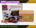 Inversor 12 V DC para AC 220 V Car Power Adapter Converter Auto Inverter Adaptador 500 W USB car styling carregador de carro