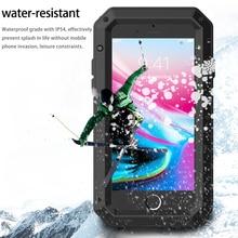 R-просто Металл Панцири шок droproof противоударный чехол для мобильного телефона iPhone 8/8 плюс пыле силиконовый защитный Чехол Коке