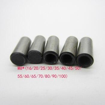 M8 * (16/20/25/30/35/40/45/50/55/60/65/70/80/90/100) pinos do atarraxamento do iso 8736 do milímetro com linha interna gb118