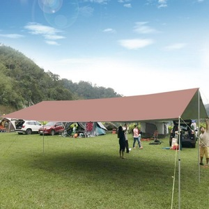 Image 2 - 6M * 8Mlarge Outdoor Tent, Luifel. Silicon Gecoat Licht Hoge Waterdichte Stof Multi Persoon Zeildoek, Regendicht Zonnebrandcrème Luifel