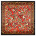60 cm * 60 cm Bohemian caju pequeno cachecol homens e Mulheres retro estilo étnico seda pequeno lenço quadrado