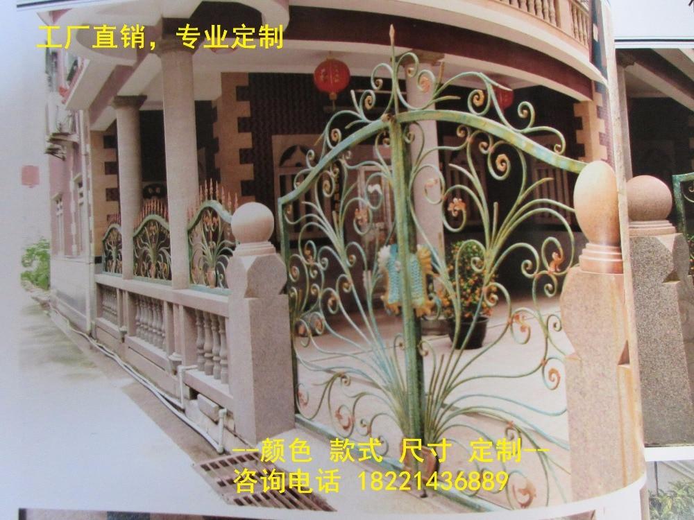 Hench 100% Factory Wholesale Wrought Iron Gates Metal Gates