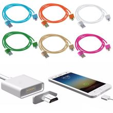 USB Fast Charging Automatic Adsorption Magnetic Micro USB Charger Cable For Samsung Android LG Sony Nokia Phone cables P20