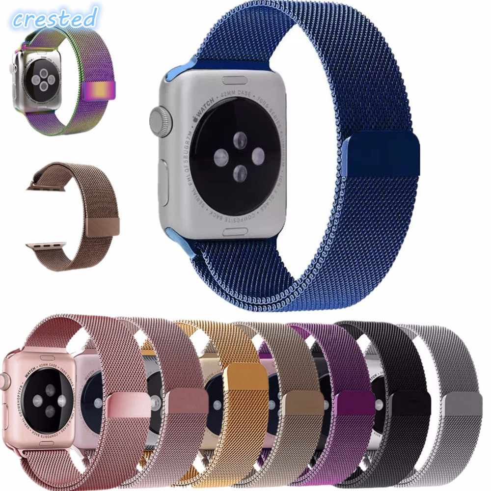 Milanese Loop Strap Link Bracelet Stainless Steel Band For Apple Watch Band 42mm 38 Bracelet Belt