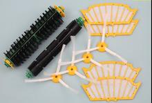 10 pcs/lot filter + side brush kit For iRobot Roomba 500 510 527 528 530 532 535 540 555 560 562 570 572 580 581 590 Replacment