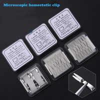 Mikroskopische blutstillende vene clip kleine schiff clip arterielle pet experiment geschlossen gerät temporären sperrung clip