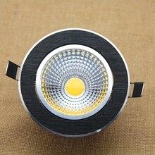 Dimmable COB LED Downlight 5W 7W 9W 12W LED Recessed Downlight Light Bulbs 110V/220V LED Ceiling Lamp COB Spot Light