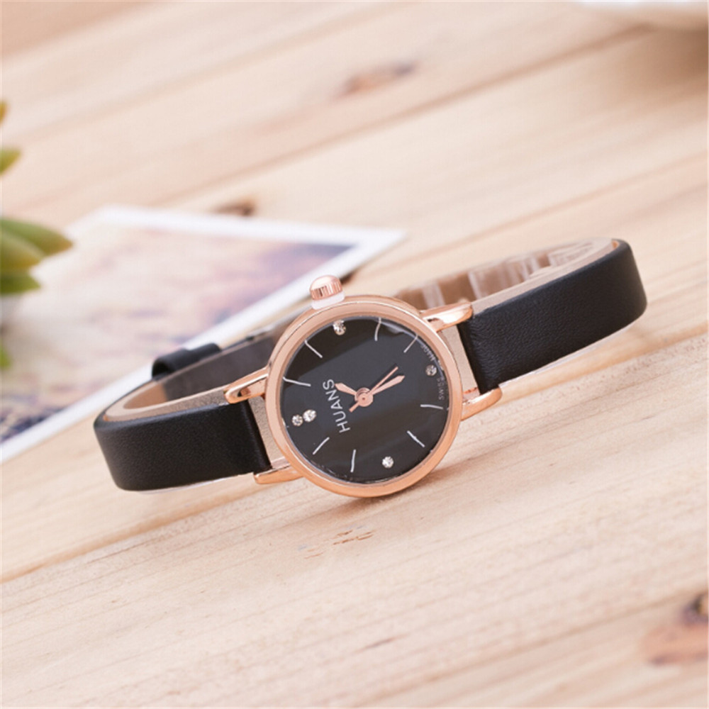 watch women luxury leather fashion top brand Woman watches Minimalist Fine Strap Watch Travel Souvenir Birthday Gifts Z70