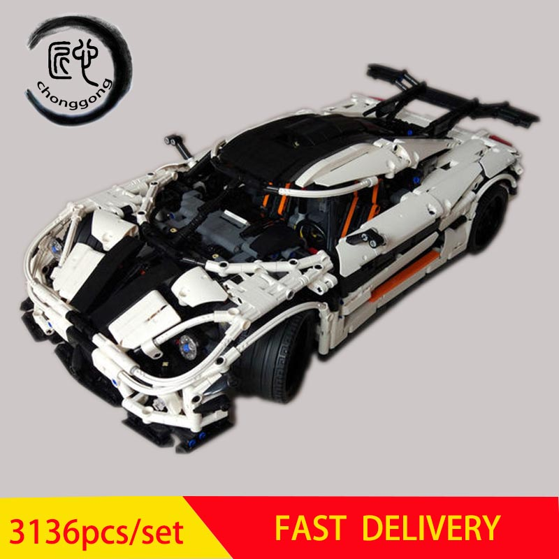 New Technic Super car Changing Racing Car Model fit MOC-4789 Building set Blocks Bricks DIY Toys for Children Gifts image