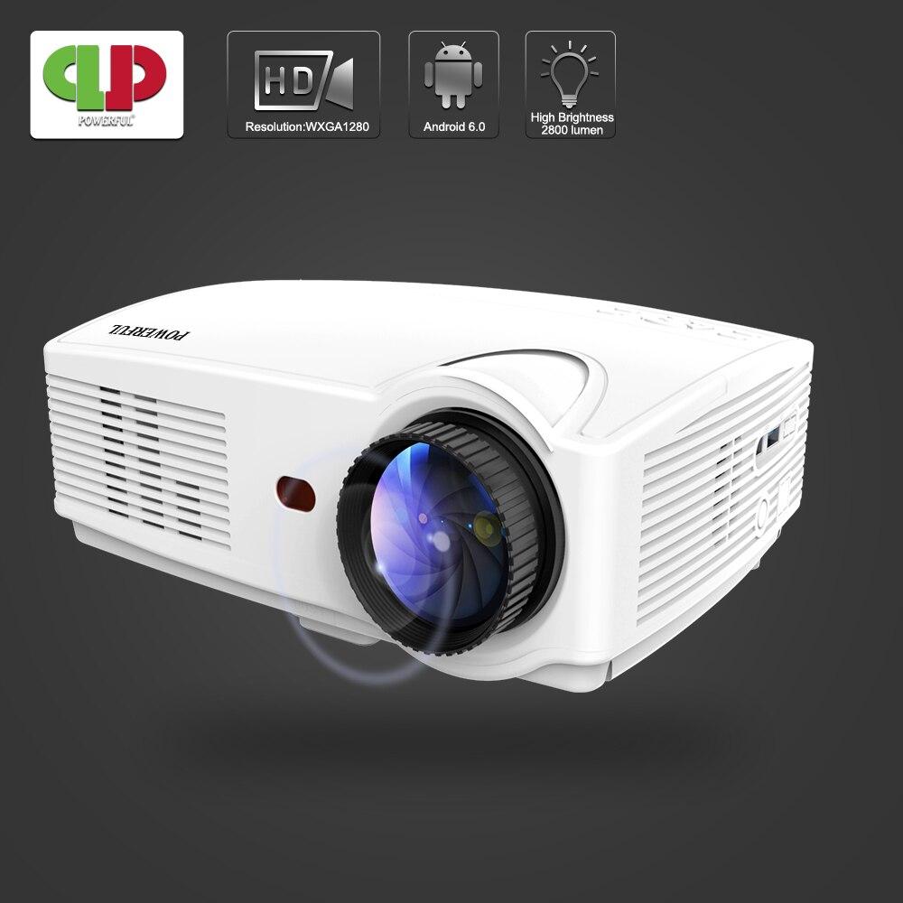 Puissant vidéoprojecteur full hd LED SV-328/328PRO projecteur intelligent 1080 P affichage pris en charge HDMI Home cinéma WIFI projecteur LCD Portable