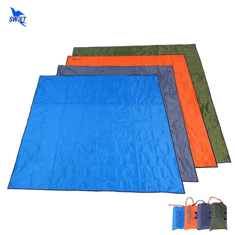 215*215 cm Étanche À L'humidité Pique-Nique Couverture Oxford Tissu Pliant Camping Tapis Grand Tapis De Plage Pas Cher Tapis de la Tente Extérieure