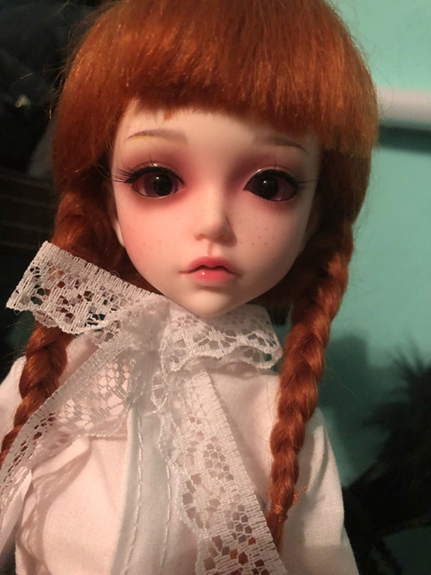 New Arrival 1/6 BJD Doll BJD/SD Fashion Lonnie With Fleckles LOVELY Doll For Baby Girl Birthday Gift Free Shipping 2