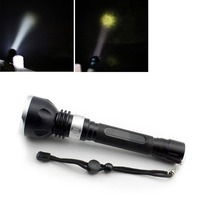 Oobest Diving Flashlight Underwater Diving Torch L2 LED Waterproof Hunting Camping T6 Flashlight Lamp Lantern Diving