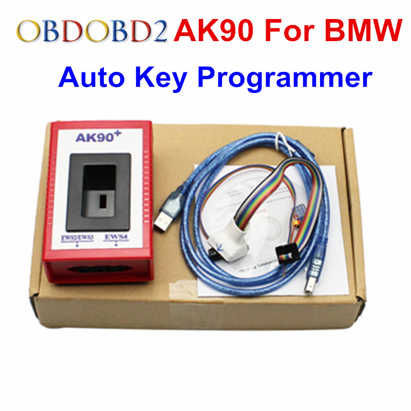 High Quality AK90 Programmer AK90 For BMW AK90 Key Programmer For All BMW EWS Newest Version V3.19 AK90 Key Maker цепочка