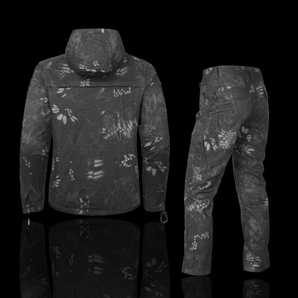 Mege 屋外迷彩狩猟服スーツタクティカルミリタリー制服エアガンライフルシューター保護オーバーオール戦術スーツ  グループ上の スポーツ & エンターテイメント からの ハイキング ジャケット の中 2