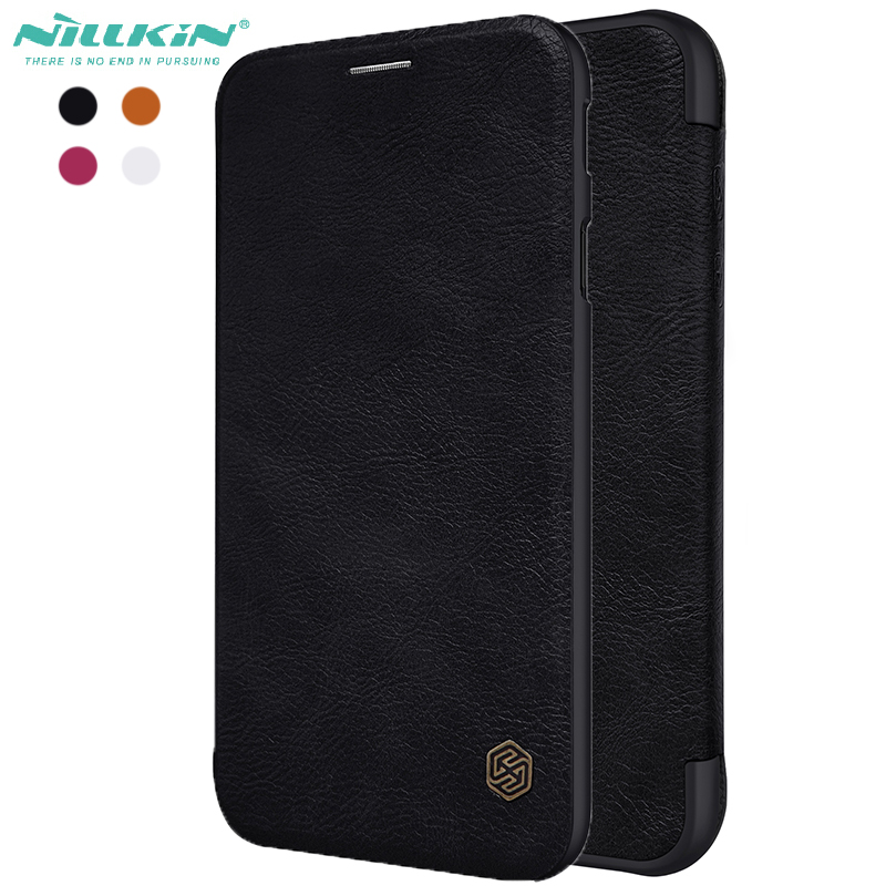on sale 2d5cb e46df US $9.89 |Nillkin Qin Wallet Pouch cover For Samsung galaxy J5 pro 2017  Luxury Leather Flip Case For Galaxy J5 2017-in Wallet Cases from Cellphones  & ...