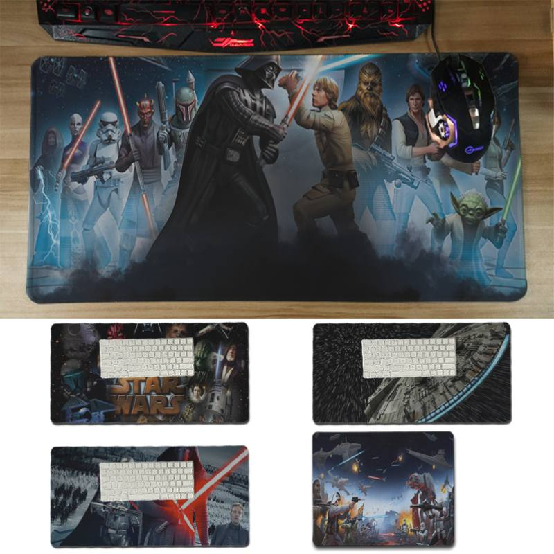 Yinuoda hot sale Wonderful star wars Laptop Computer Mousepad Size for 30x60cm and 30x60 ...