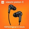 NEW Original Xiaomi Piston 3 Hybrid Capsule Bass Earphones With Remote & Mic For Phone MI4 5 Hongmi Note Retail box Top Quality