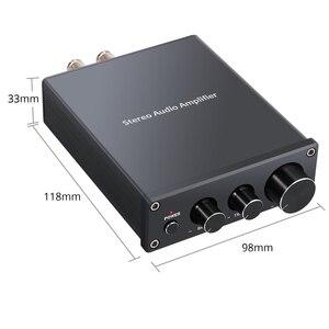 Image 2 - Prozor 50w amplificador de potência digital hi fi classe d integrado amplificador de áudio estéreo de 2 canais com baixo e controle agudos