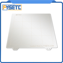1 pc Yeni 235*235mm Bahar çelik levha Isı Yatak Platformu Esnek Yapay Modeli Için Creality Ender-3 CR-20 3D yazıcı Parçaları