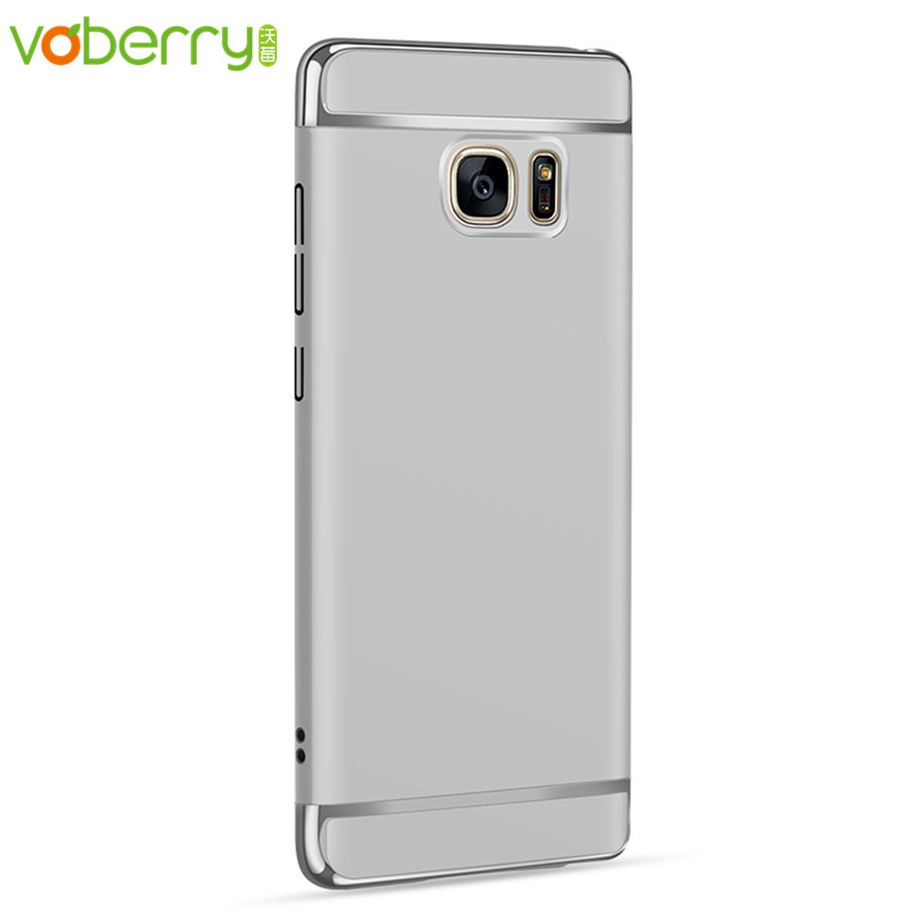 Voberry High Quality LED Flash Light Up Incoming Call Silicon Case Cover Slim Fit For Samsung Galaxy S8 5.8 inch