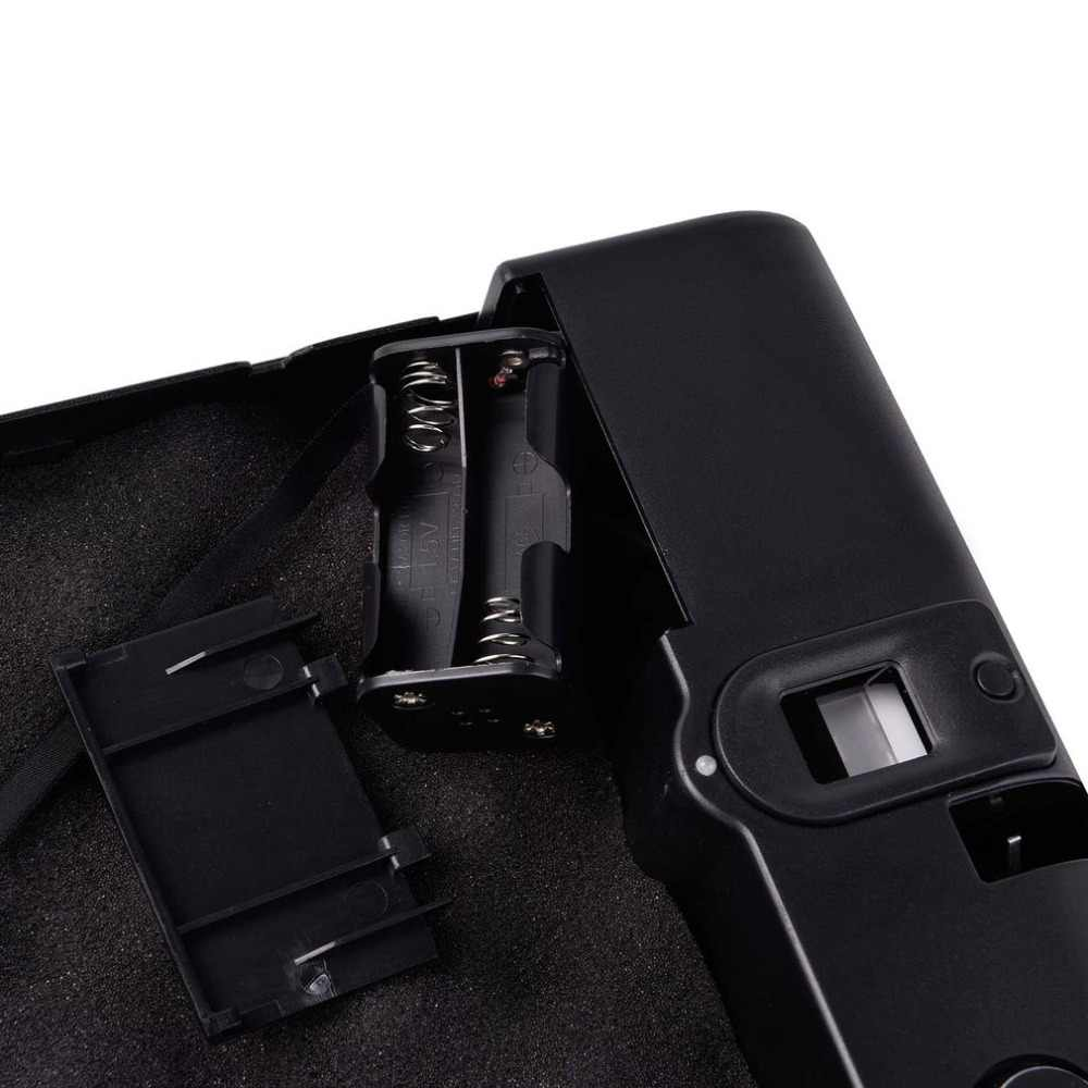 Pistool Veilig Draagbare Vingerafdruk Box Veilige Vingerafdruk Sensor Box Security Keybox Strongbox OS100A Voor Kostbaarheden Sieraden Cash