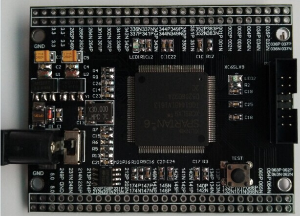 Xilinx FPGA Development Board Spartan6 XC6SLX9 Development Board Core Board Minimum System Board