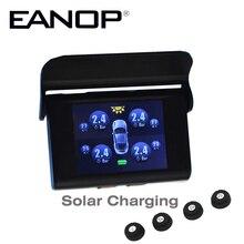 EANOP Car TPMS Solar LCD Type Pressure Monitoring System Tpms Guage font b Diagnostic b font