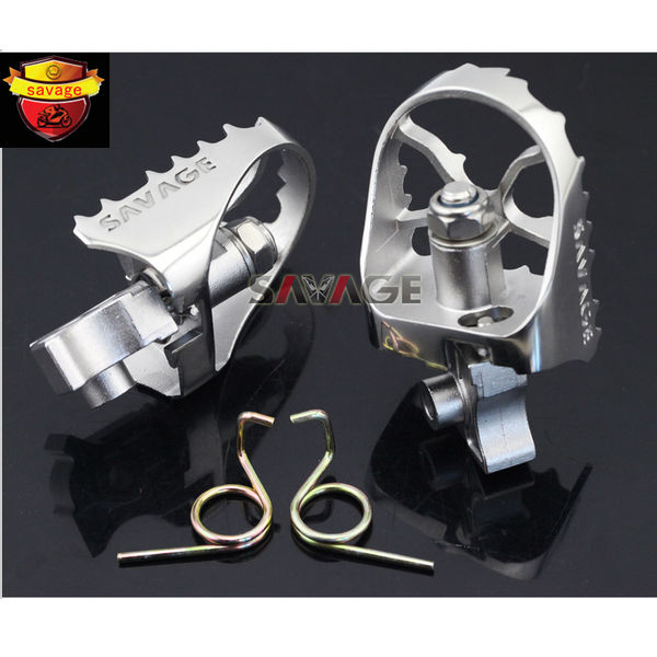 For BMW R1200GS LC/R1200GS LC Adventure 2014-2016 Motorcycle Wide Enduro Foot Pegs Tilt Angle Adjustable Footpegs