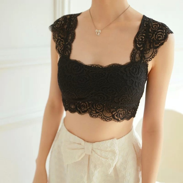 Lace Padded Top