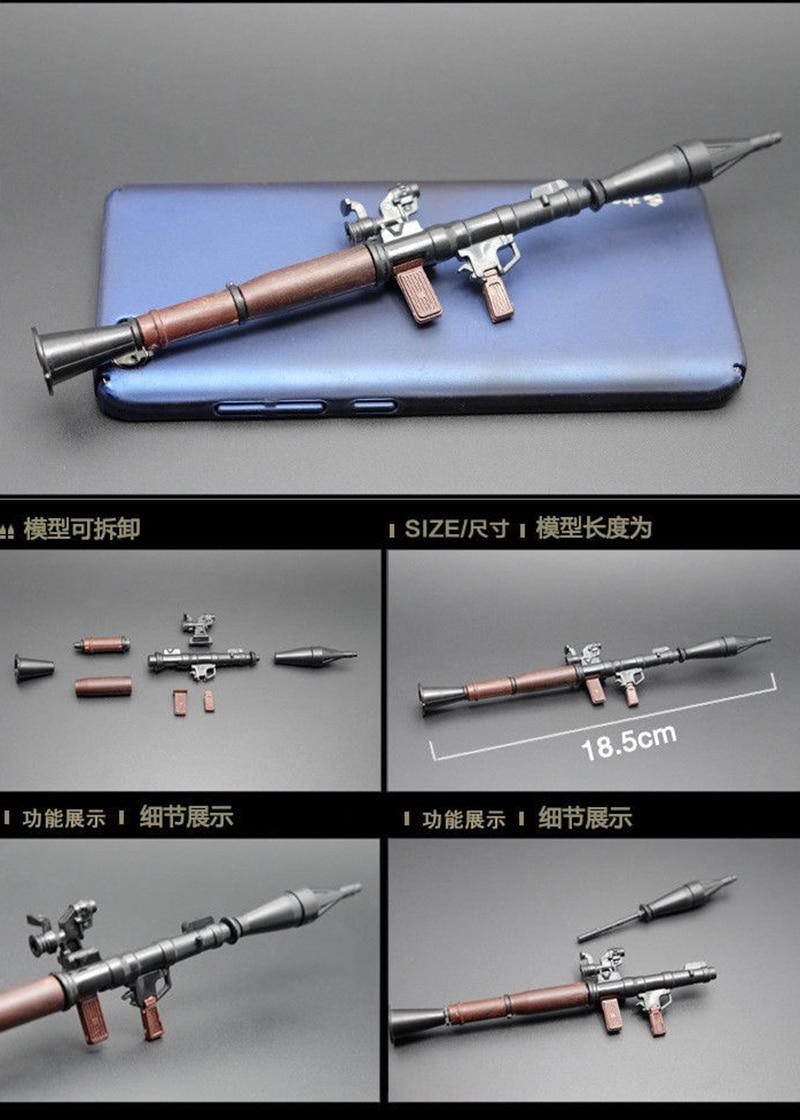 """6pcs//set 1//6 4D Rifle Assembly 98K Gun Weapon Model Toys F 12/"""" Action Figure"""