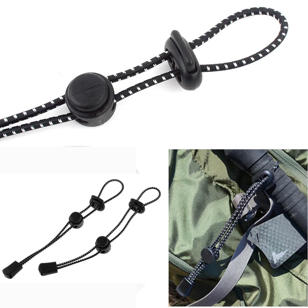 2 Pieces Backpack Hiking Stick Holder Lanyard Adjustable For Men Women Outdoors Backpack Hiking Stick Holder Survival Tool