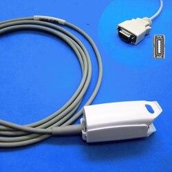 Sensor adulto longo do grampo spo2 do dedo do awt do cabo para o monitor paciente do módulo de nellcor do golfinho