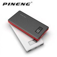 Original PINENG Power Bank 10000mAh For Xiaomi Mi Ultra Slim 2 USB Ports Fast Charging Portable