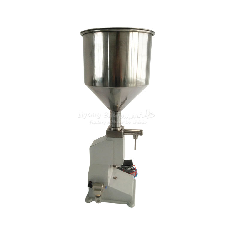 Small pneumatic filling machine A02 paste  Honey Liquid filling machine small dose vibration type pneumatic sanding machine rectangle grinding machine sand vibration machine polishing machine 70x100mm