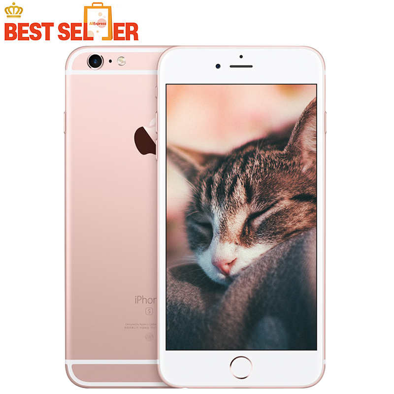 Unlocked Apple IPhone 6S 4.7 Inch Mobile Phones 2GB RAM 16GB/64GB/128GB ROM 4K Video