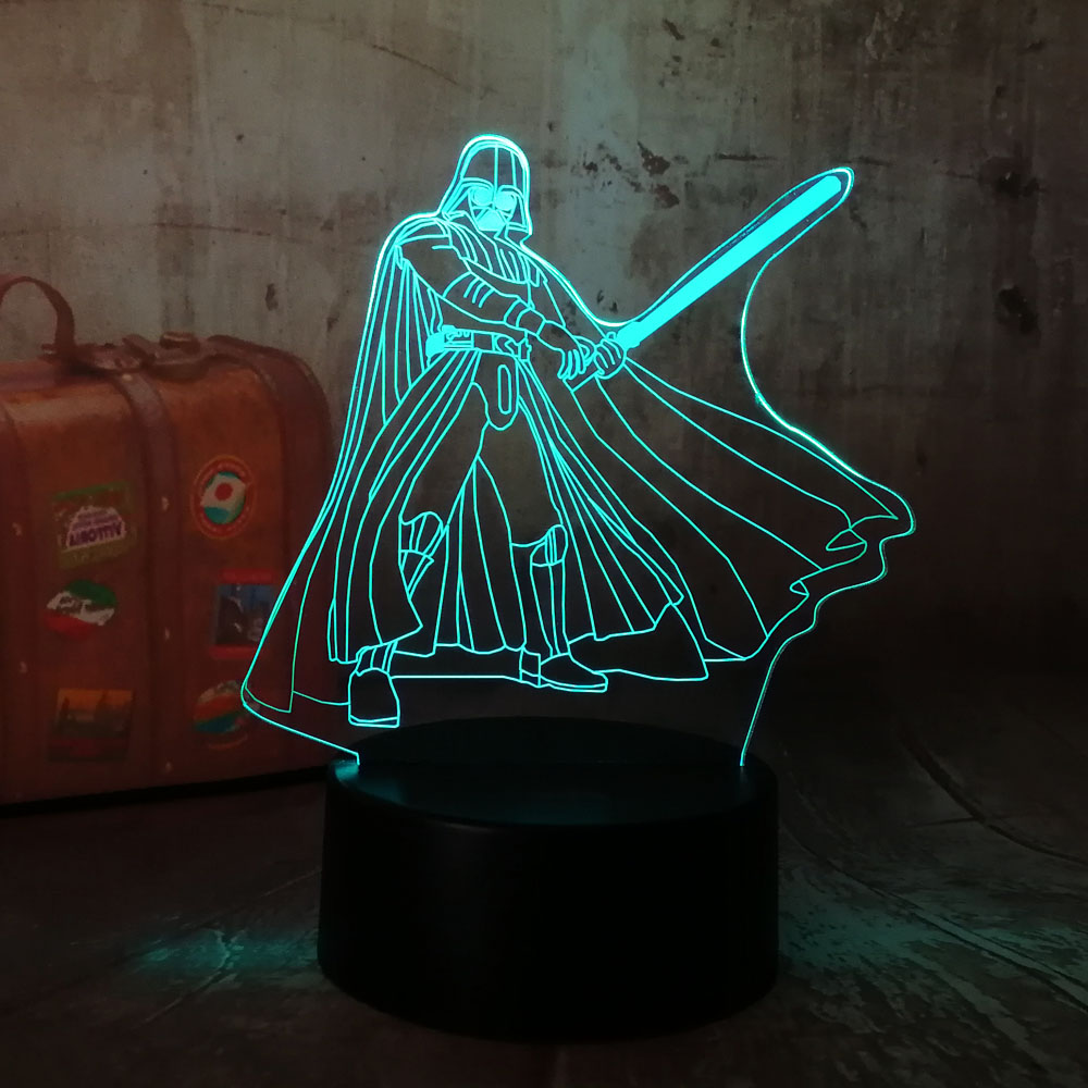 Kindermobel Wohnen Star Wars 3d Wall Light Darth Vader Childrens Wall Light Official New Free P P Pandeglangkab Go Id