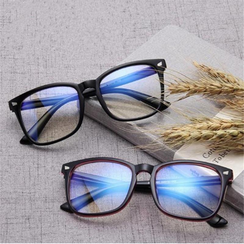 Fashion Unisex Computer Frame Glasses Women Men Rays Radiation Eyewear Frame Anti Blue Ray Clear Lens Eyeglasses