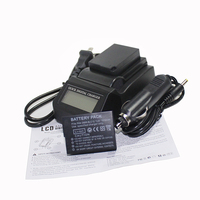 2pcs 1800mAh DMW BLC12 DMW BLC12 Camera Battery Fast LCD Charger For Panasonic Lumix DMC FZ200