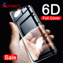 GPNACN 6D Curved Full Cover Tempered Glass For Samsung Galaxy S9 S8 Plus S7 Edge Screen Protector For Samsung Note 8 9 Glass(China)
