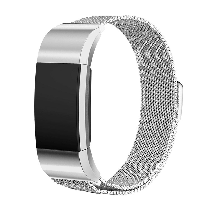 Watch Strap For fitbit Charge 2 band stainless steel bracelet milanese loop Replacement Wrist watch band for Fitbit Charge 2 replacement luxury silicone watch band wrist strap for fitbit charge 2 bracelet 580287