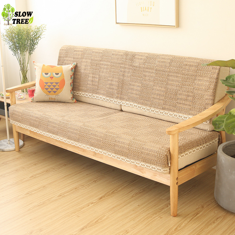 Tree Light Wood Color Thick Woven Cloth