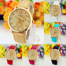 Watches Women Men Luxury Clock Quartz Watch Wrist Watches for Woman Life Waterproof Leather Strap Relojes Mujer #2522