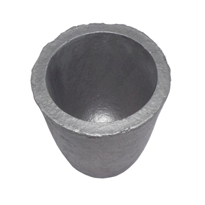 Image 4 - 6# Silicon Carbide Graphite Crucibles for Carbide Furnace Coke Oven Electric Furnace Torch Melting Casting Refining Gold Silver