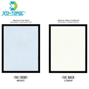 XINDI 35*45 سنتيمتر 10 ألوان السبورة إطار MDF لوحة بيضاء جديد المغناطيسي سبورات الكتابة رسالة محو الجافة مع شحن مجاني WB24