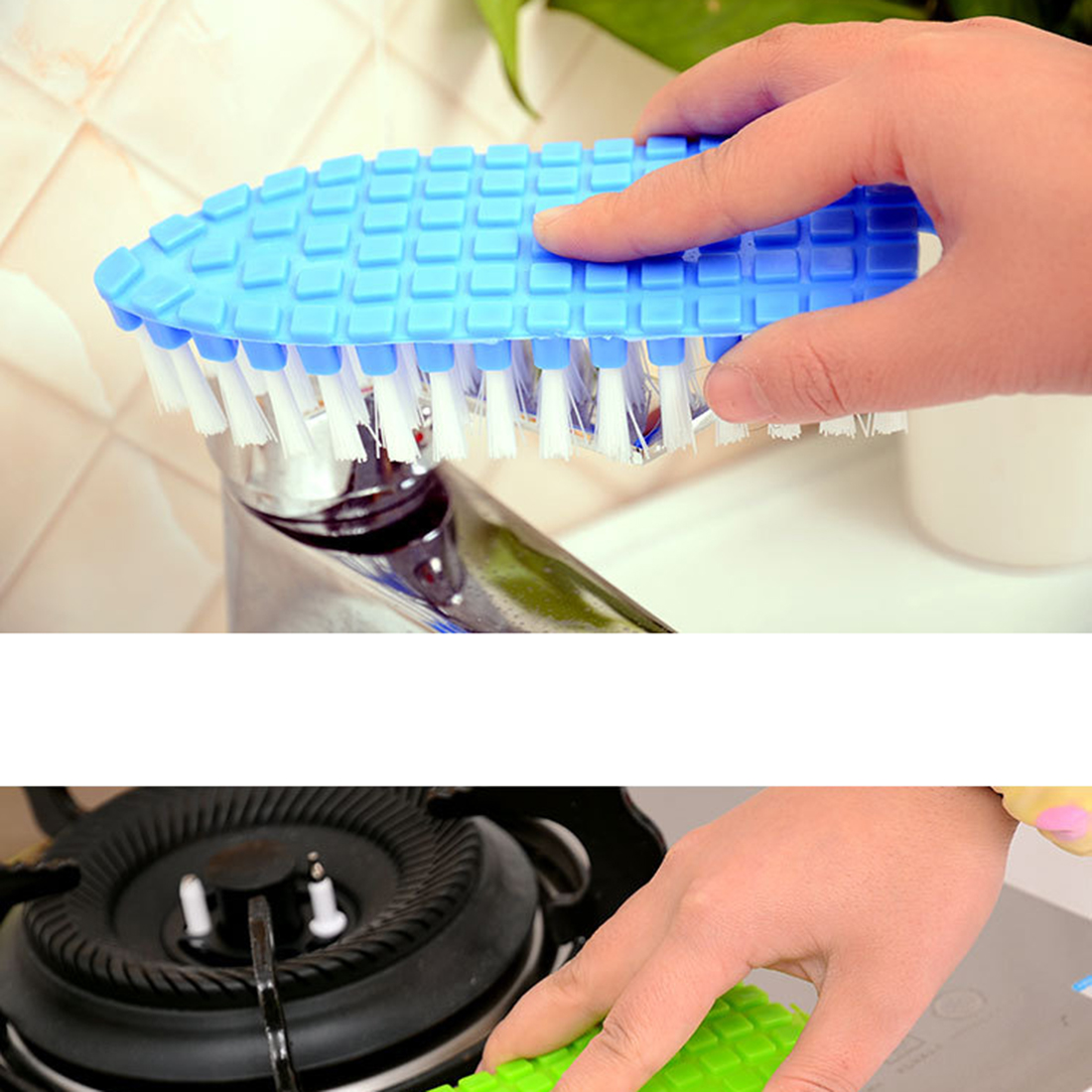 Magic High Quality Flexible Household Washing Tools Cleaning Brusher For The Kitchen Tile Floor Bathroom