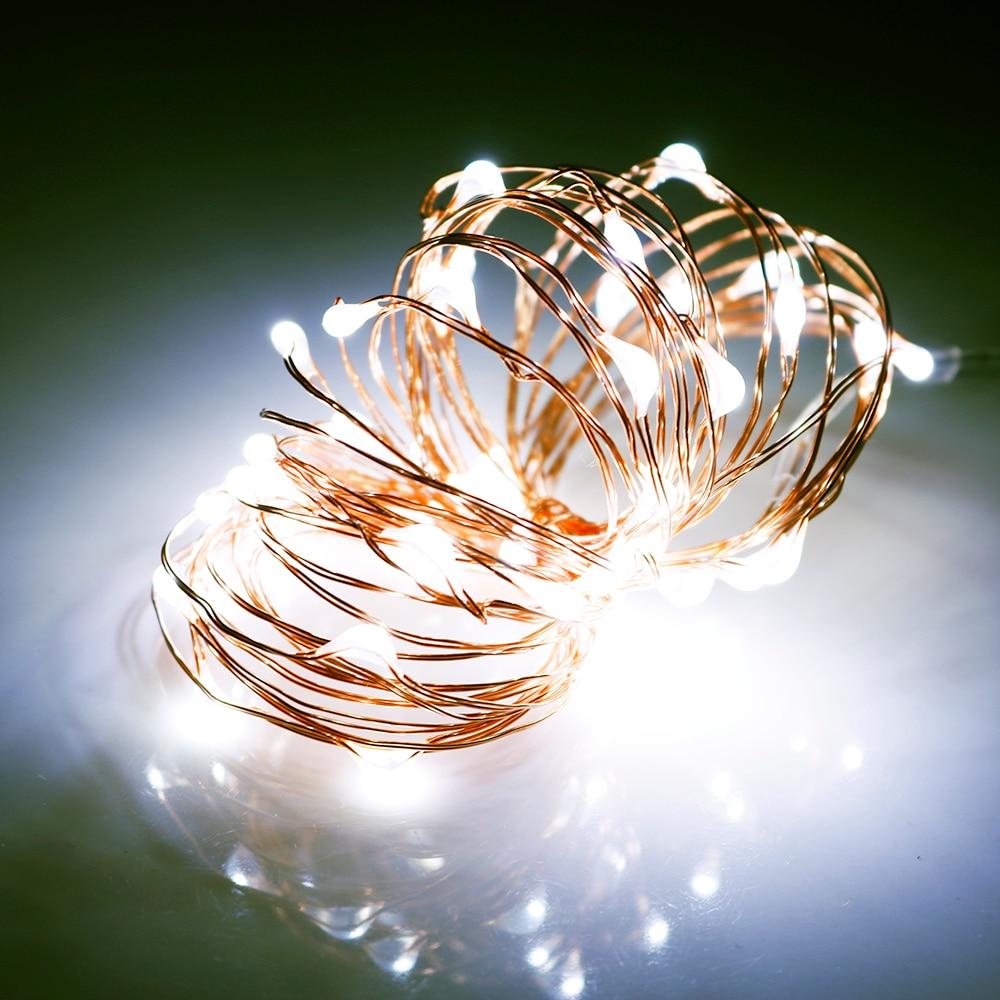 Led String Рождестволық шамдар Copper Sliver Wire - Мерекелік жарықтандыру - фото 5