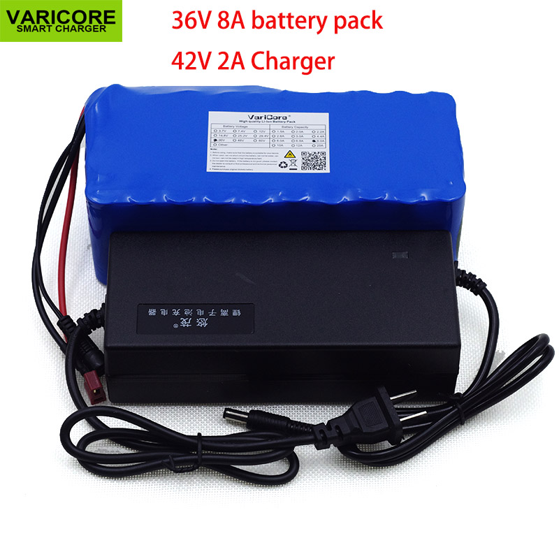 36V 8Ah 10S4P 500w 18650 Rechargeable battery, modified bicycles, 36vProtection of the electric vehicle with BMS+42 v 2A Charger36V 8Ah 10S4P 500w 18650 Rechargeable battery, modified bicycles, 36vProtection of the electric vehicle with BMS+42 v 2A Charger
