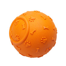 Pet Supply Tooth Cleaning Funny Teeth Rubber Dog Ball Toy Chew Toys For Small Large Dog(China)